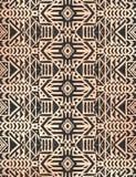 Modello senza cuciture messicano tribale azteco illustrazione di stock