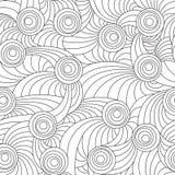Linee e cerchi Immagine Stock