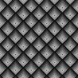 Modello senza cuciture monocromatico geometrico Immagine Stock Libera da Diritti