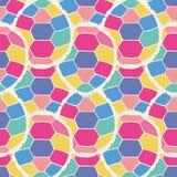 Modello senza cuciture multicolore sveglio delle tartarughe stilizzate nello stile del fumetto Fotografie Stock