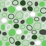 Modello senza cuciture nei toni verdi Fotografia Stock