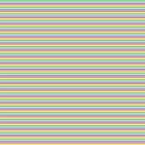 Modello senza cuciture semplice delle linee colorate Fotografia Stock Libera da Diritti