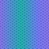 Modello senza cuciture semplice delle squame marine nei colori pastelli morbidi illustrazione vettoriale