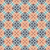 Modello senza cuciture splendido marocchino, mattonelle portoghesi, Azulejo, ornamenti Può essere usato per la carta da parati, i Fotografia Stock Libera da Diritti