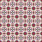 Modello senza cuciture splendido marocchino, mattonelle portoghesi, Azulejo, ornamenti Può essere usato per la carta da parati, i Immagini Stock