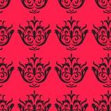 Modello senza cuciture su fondo rosa Fotografia Stock