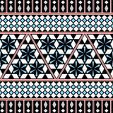 Modello senza cuciture tribale Fondo etnico di vettore Fotografie Stock Libere da Diritti