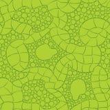 Modello senza cuciture tricottato verde - vettore Illustrazione di Stock