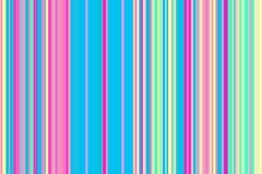 Modello senza cuciture variopinto delle bande Fondo astratto dell'illustrazione dell'arcobaleno Colori moderni alla moda di tende illustrazione vettoriale