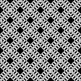 Modello senza cuciture variopinto geometrico di vettore con i quadrati illustrazione di stock