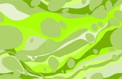 Modello senza cuciture verde Fotografia Stock Libera da Diritti