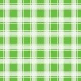 Modello senza cuciture verde, fondo del percalle illustrazione di stock
