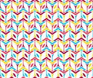Modello senza cuciture verticale di prima di Libox forma luminosa della scatola dei colori Fotografia Stock Libera da Diritti