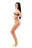 Modello sexy in bikini immagine stock libera da diritti