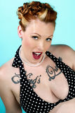 Modello sexy del pinup Fotografie Stock Libere da Diritti