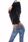Modello sexy di fascino Fotografie Stock Libere da Diritti