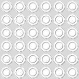 Modello soleggiato senza cuciture Illustrazione di vettore Immagini Stock