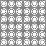 Modello soleggiato senza cuciture Illustrazione di vettore Immagine Stock Libera da Diritti