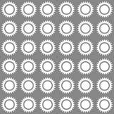Modello soleggiato senza cuciture Illustrazione di vettore Fotografia Stock