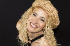 Modello sorridente Fotografie Stock Libere da Diritti