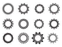 Modello sotto forma di cerchio Fotografie Stock