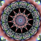 Modello stereoscopico di frattale Immagini Stock Libere da Diritti