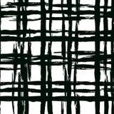 Modello a strisce d'annata con le linee spazzolate Fotografia Stock