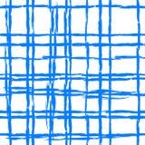 Modello a strisce d'annata con le linee spazzolate Fotografie Stock Libere da Diritti