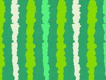 Modello a strisce dell'anguria su tessuto di tela illustrazione di stock