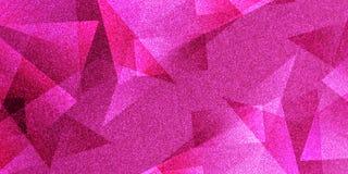 Modello a strisce e blocchetti protetti fondo astratto di rosa in linee diagonali con struttura rosa d'annata royalty illustrazione gratis