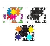 Modello, struttura senza cuciture del puzzle Immagini Stock