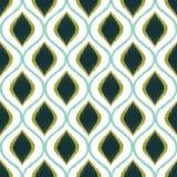 Modello strutturato della maglia geometrica senza cuciture Fotografia Stock Libera da Diritti