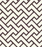 Modello strutturato della maglia geometrica senza cuciture Immagine Stock