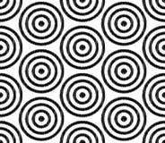 Modello strutturato della maglia senza cuciture del cerchio illustrazione di stock