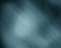 Modello su un fondo blu Fotografia Stock Libera da Diritti