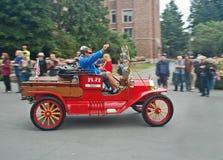 Modello-t rosso di Ford Immagine Stock