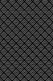 Modello tagliente di struttura del rombo di zigzag nella gradazione illustrazione di stock