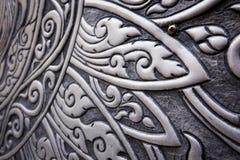 Modello tailandese d'argento Fotografie Stock Libere da Diritti