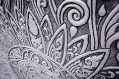Modello tailandese d'argento Fotografia Stock Libera da Diritti