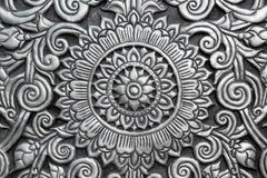Modello tailandese d'argento Fotografia Stock