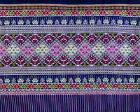 Modello tailandese dei sarong Fotografia Stock