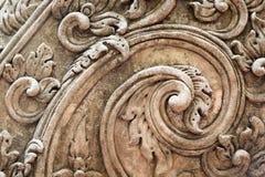 Modello tailandese del cemento a spirale Fotografia Stock