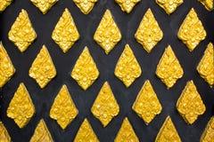 Modello tailandese dell'oro Fotografie Stock