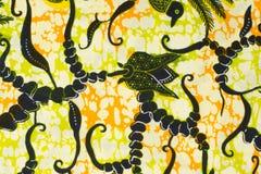 Modello tradizionale dei sarong del batik Fotografie Stock