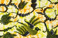 Modello tradizionale dei sarong del batik Fotografie Stock Libere da Diritti
