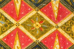 Modello tradizionale dei sarong del batik Fotografia Stock