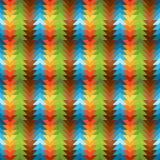 Modello traingular dell'arcobaleno senza cuciture Immagine Stock Libera da Diritti