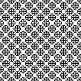 Modello trasversale monocromatico Illustrazione di vettore di Black&white Fotografia Stock