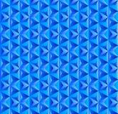 Modello triangolare blu senza cuciture per fondo astratto illustrazione vettoriale