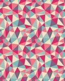 Modello triangolare senza cuciture Fotografie Stock Libere da Diritti